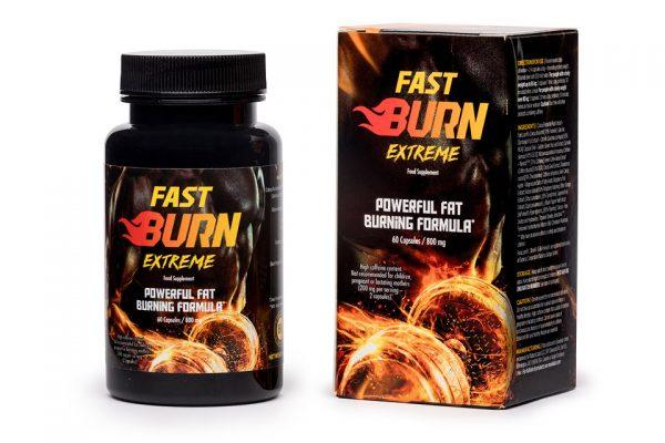 fast burn extreme cena