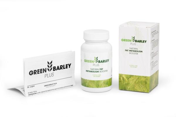green barley plus cena